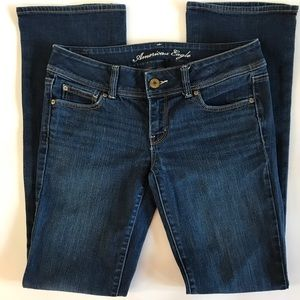 AEO American Eagle Slim Boot Stretch Jeans 8 Long